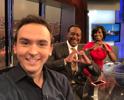 NBC4's Tommy McFly Talks Montgomery College's #loveuchallenge