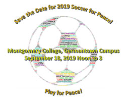 The 11th Annual Soccer for Peace Kicks off at Noon on Sept. 18!