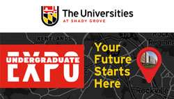 The Universities at Shady Grove (USG) Invites MC Students to Undergraduate Expo on Nov. 2