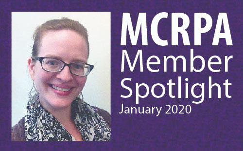 MCRPA Spotlight for January: Get to Know Elysse Meredith
