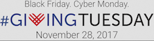 Next Week is #GivingTuesday - Global Day of Giving