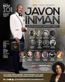 Award-Winning Javon Inman in Concert Tonight Celebrating Sophomore Album